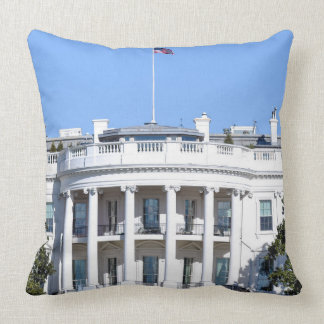 White House of the United States - Washington DC Throw Pillow