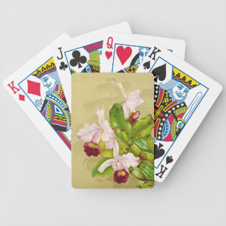 White House Orchid 1892 Poker Deck