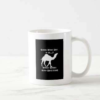 White Hump Day Camel Basic White Mug