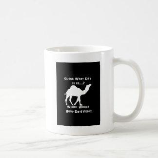 White Hump Day Camel Coffee Mug