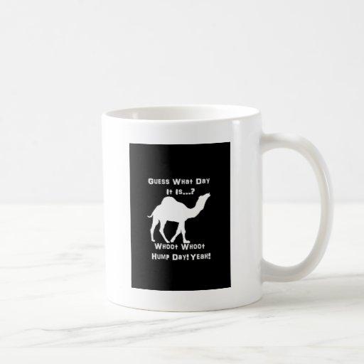 White Hump Day Camel Mugs