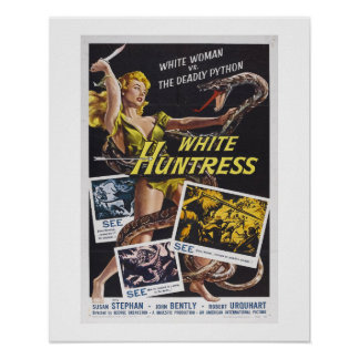 White Huntress Poster