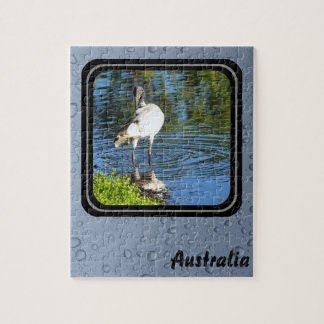 White Ibis jigsaw puzzle