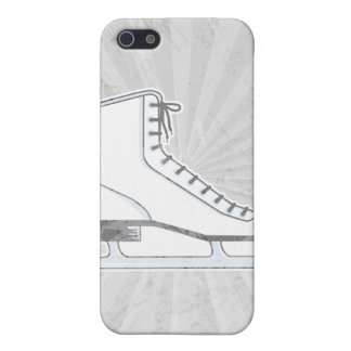 white ice skate vector graphic iPhone 5/5S cover