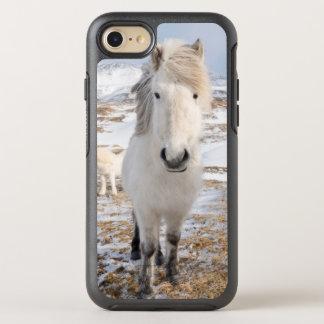 White Icelandic Horse, Iceland OtterBox Symmetry iPhone 7 Case