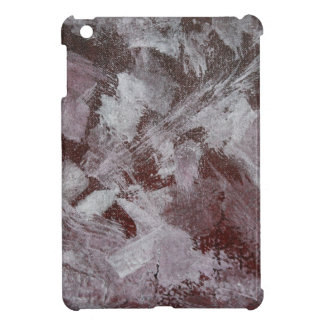 White Ink on Red Background iPad Mini Covers