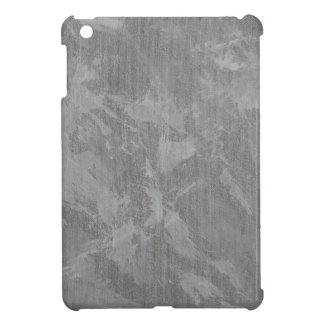 White Ink on Silver Background Case For The iPad Mini