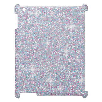 White iridescent glitter cover for the iPad 2 3 4