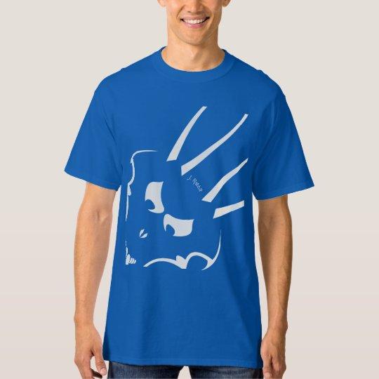 White J. Rabbit Logo mens tall T-Shirt