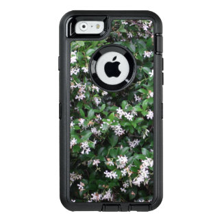 White Jasmine Flower Otterbox Defender iPhone Case