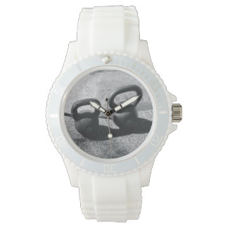 White Kettlebell Watch