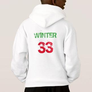 White Kids Hoodie Ian Winter