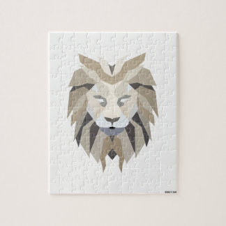 White King Lion Jigsaw Puzzle