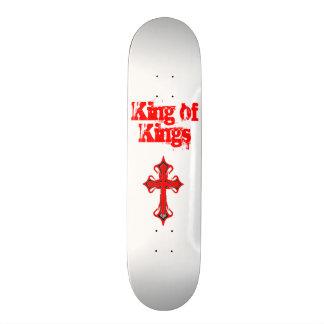 White King of Kings Skateboard Deck