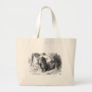 White King Sleeping Large Tote Bag