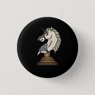 White Knight 1 Inch Round Button