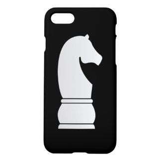 White knight chess piece iPhone 8/7 case