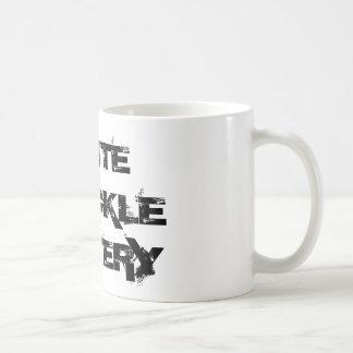 WHITE KNUCKLE BATTERY - Coffee Mug