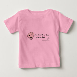 white lab baby T-Shirt