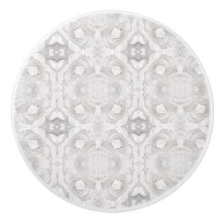 White Lace Ceramic Knob
