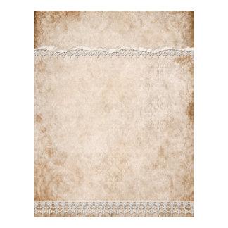 White Lace Letterhead