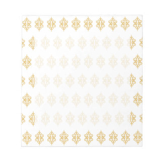 White Lace Notepad