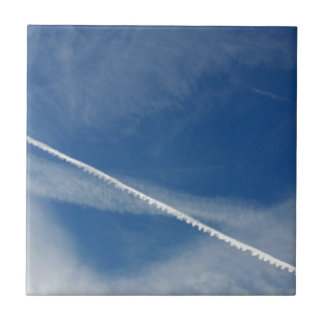 white lace on the sky ceramic tiles