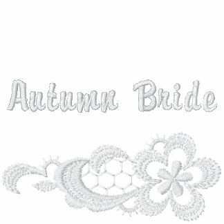 White Lace Wedding - Autumn Bride