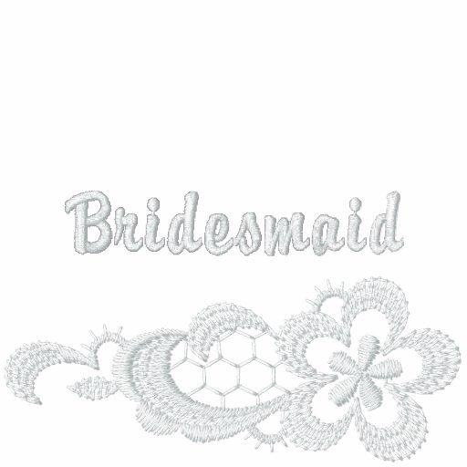 White Lace Wedding - Bridesmaid