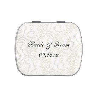 White Lace Wedding Favor