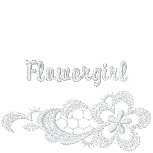 White Lace Wedding - Flowergirl