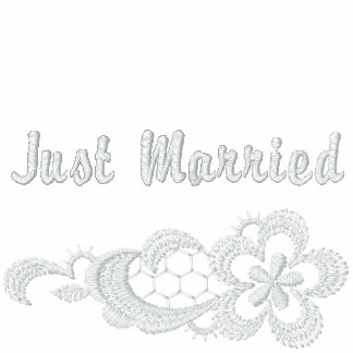 White Lace Wedding - Just Married