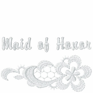 White Lace Wedding - Maid of Honor