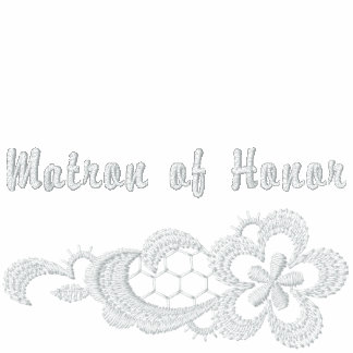 White Lace Wedding - Matron of Honor