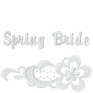 White Lace Wedding - Spring Bride