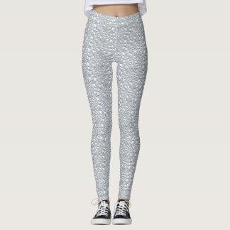 White Lace Yoga Gym Exercise Leggings Pants