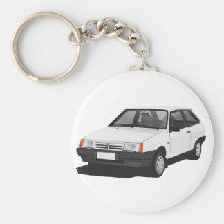 White Lada Samara | VAZ-2109 Keychain