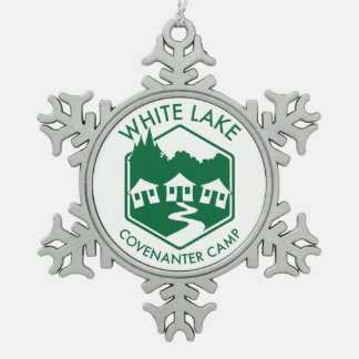 White Lake Snowflake Ornament