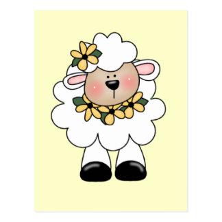 White Lamb T-shirts and Gifts Postcard