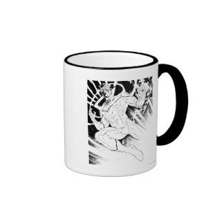 White Lantern Corps Ringer Coffee Mug