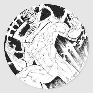 White Lantern Corps Round Sticker