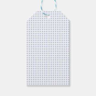 White Lattice on Alice Blue in English Garden Pack Of Gift Tags