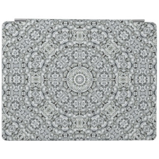 White Leaf Kaleidoscope   iPad Smart Covers iPad Cover
