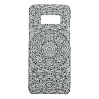 White Leaf Kaleidoscope  Phone Cases