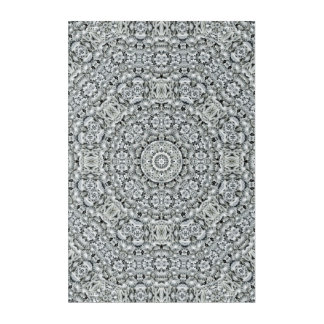 "White Leaf Pattern Acrylic Wall Art, 24"" x 36"" Acrylic Wall Art"