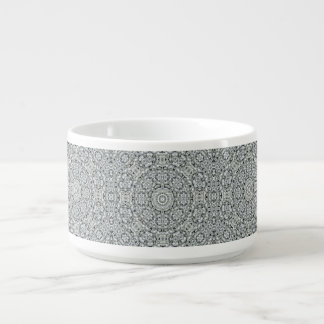 White Leaf Pattern Chili Bowls Chili Bowl