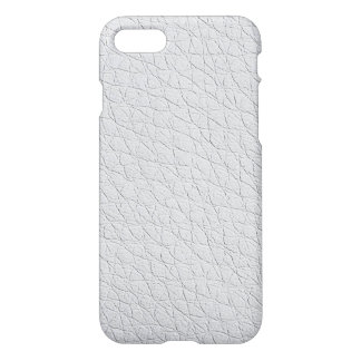 white leather textures iPhone 7 case