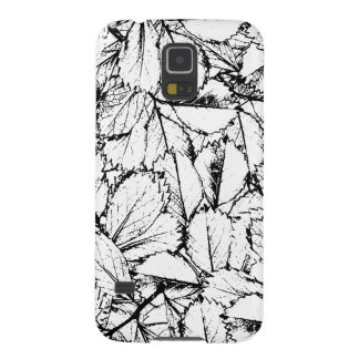 White Leaves Case For Galaxy S5