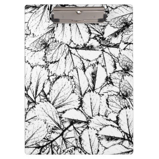 White Leaves Clipboards