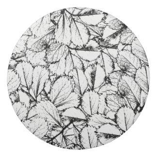White Leaves Eraser